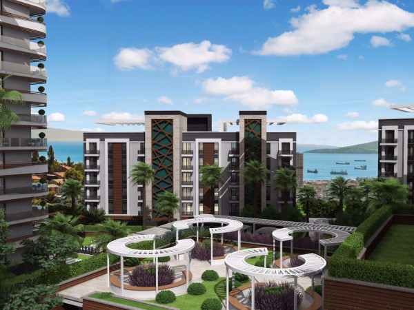Stylish new project with long payment plan in Istanbul
