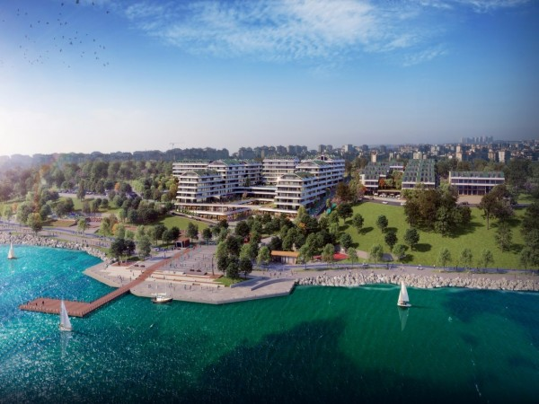 Exceptional water front luxury complex in Istanbul
