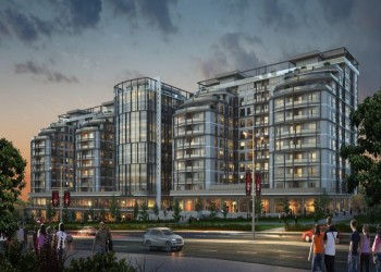 Centrally located residential complex with payment plan in Istanbul