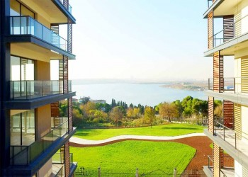 Fantastic project with tremendous lake views for sale in Istanbul