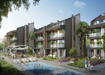 Exclusive modern design residential project on Asian side of Istanbul