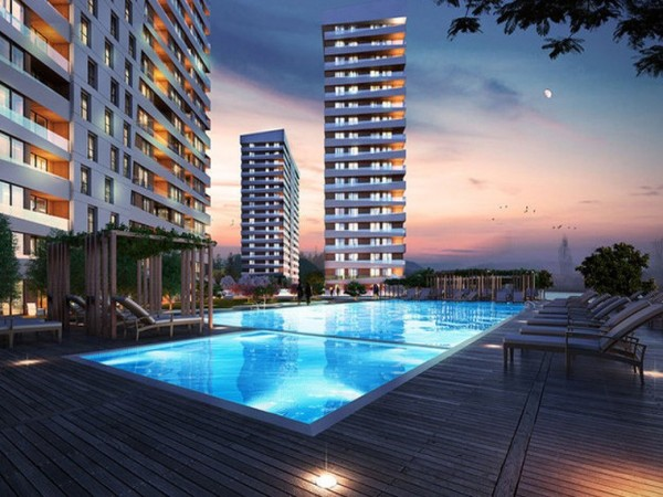 Modern design residential project close to Ataturk Airport