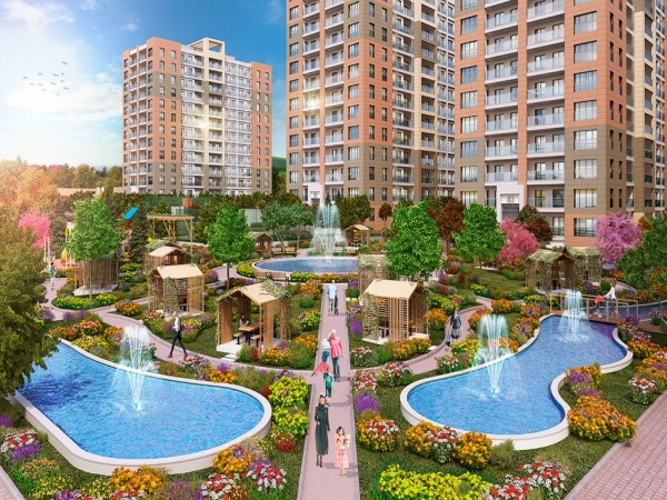 Fantastic residential project in popular area of Istanbul