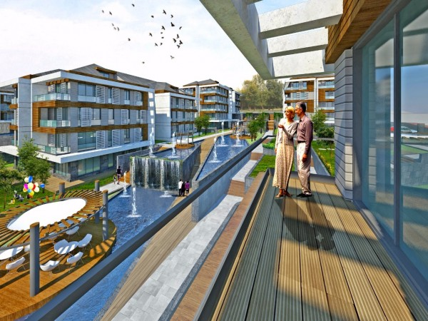 Exclusive residential complex in natural surroundings of Istanbul