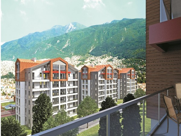 Centrally located luxury apartments in Bursa