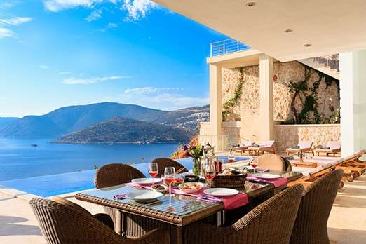 Apartments in Kas with stunning views