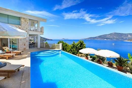 Luxury villas in Kalkan with perfect views