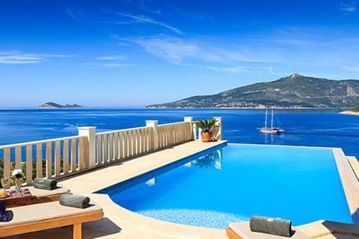 Villas for sale in Kalkan with discounted price