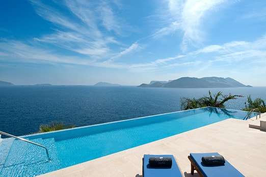 Luxury villas in Kas with perfect views