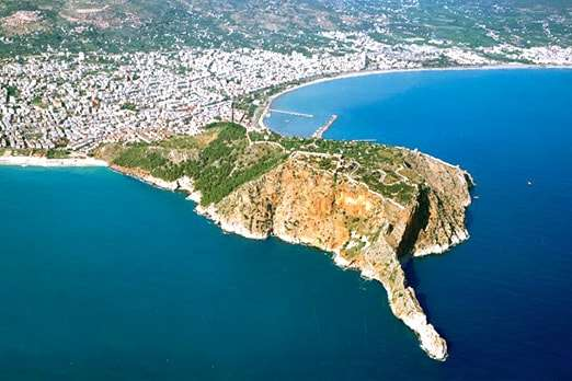 Alanya land for sale with sea views