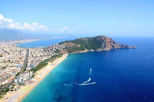 Cheap lands for sale in Alanya region