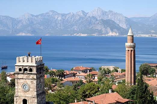 Antalya land for sale with sea views