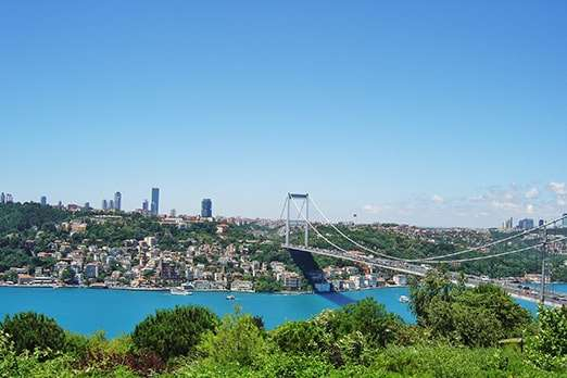 Istanbul land for sale with sea views